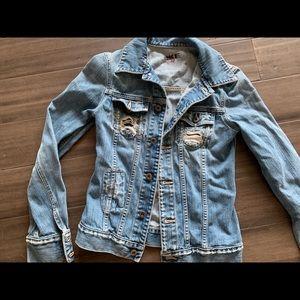 BUCKLE • Distressed Denim Jacket